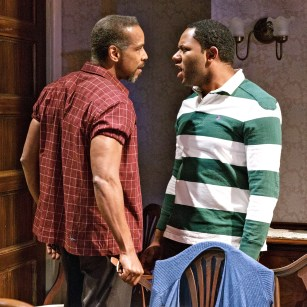 Kevyn Morrow and Larry Powell in Billy Porter's While I Yet Live