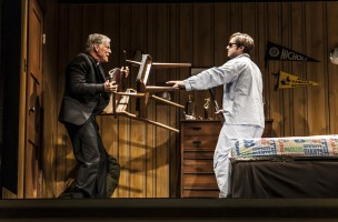 Sticks and Bones, recently revived play about a returning Vietnam War veteran, ends in bloodshed