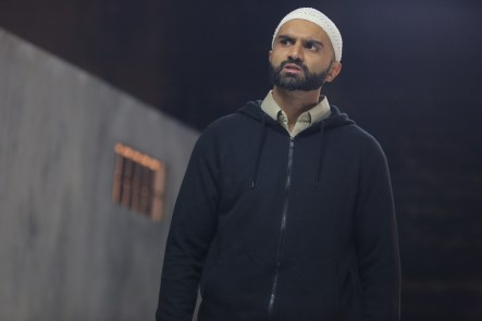 Usman Ally in NTYW's THE INVISIBLE HAND - Photo by Joan Marcus