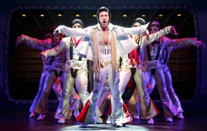 David Josefsberg as one of many Vegas Elvises
