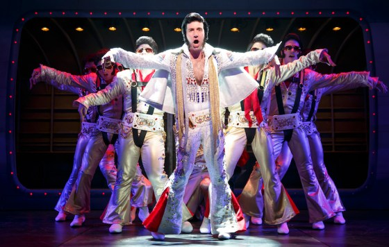David Josefsberg as one of many Vegas Elvises