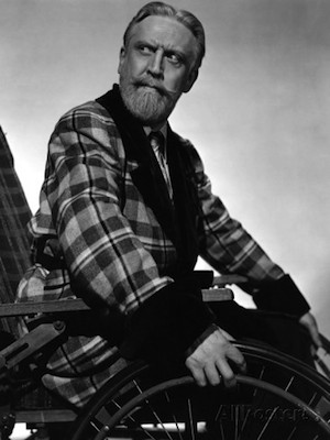 Monty Woolley as the impossible critic Sheridan Whiteside in The Man Who Came To Dinner