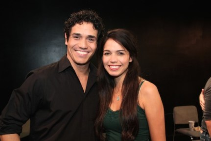 Adam Jacobs and Arielle Jacobs