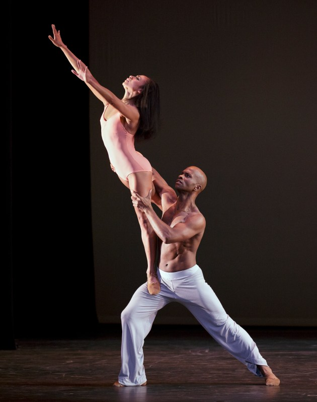AAADT's Linda Celeste Sims & Glenn Allen Sims in Christopher Wheeldon's After the Rain Pas de Deux  Photo by Paul Kolnik