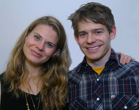 Celia Keenan-Bolger and Andrew Keenan-Bolger