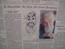 Hirschfeld's obituary, 2003