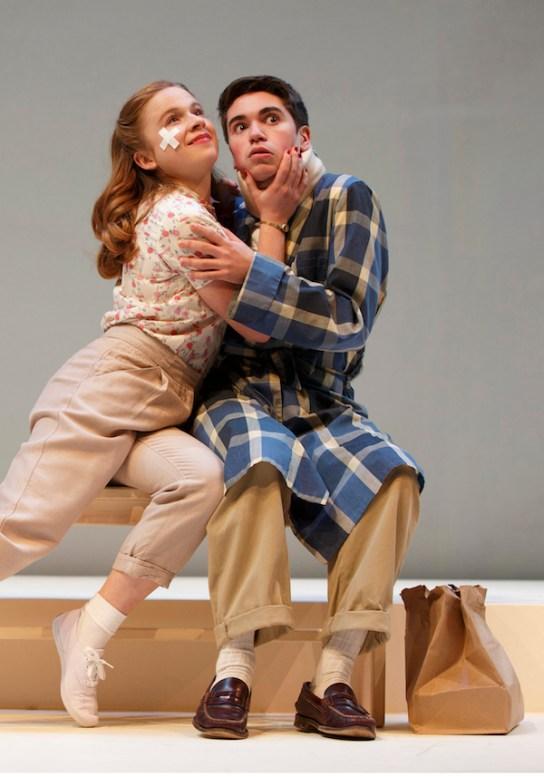 Juliet Brett (Bonny), Noah Galvin (Charlie)