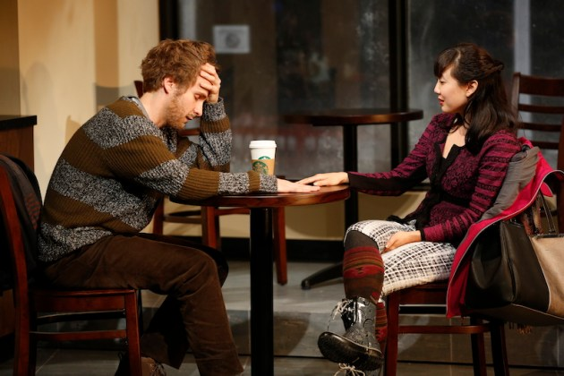 Gloria7 Ryan Spahn and Jennifer Kim Photo by Carol Rosegg