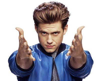 Aaron Tveit, who will star in Grease on TV