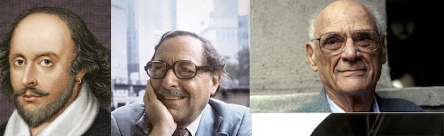 Day jobs? Shakespeare, Tennessee Williams, Arthur Miller