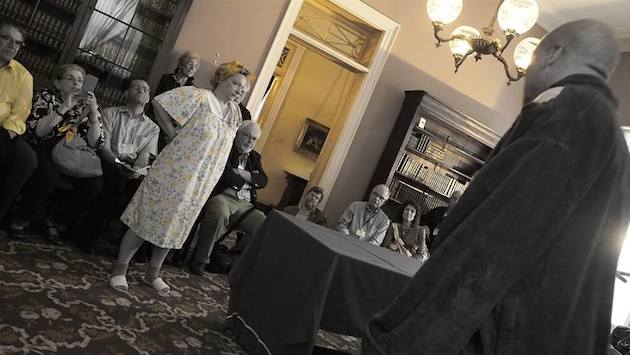 Scene from Mr. Paradise, one of the Hotel Plays, New Orleans 2015