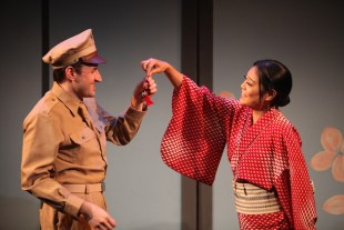 Sayonara 2a Morgan McCann is Ace, Ya Han Chang is Hana-Ogi photo by John Quincy Lee