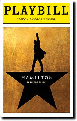 Hamilton-Playbill