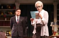 Joe Paulik as the young lawyer and Maureen Anderman