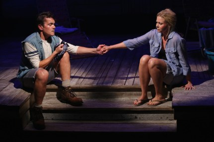Liv Rooth and Derek Smith in Elizabeth Egloff's Tent Worms,