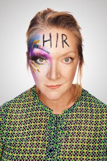 Kristine Nielsen in poster for Taylor Mac's Hir