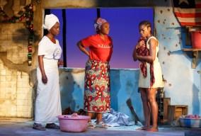 Akosua Busia, Saycon Sengbloh, and Pascale Armand