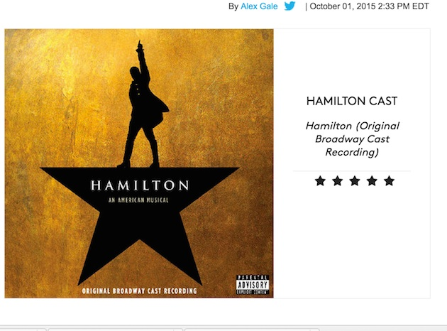 Hamiltonalbumreview