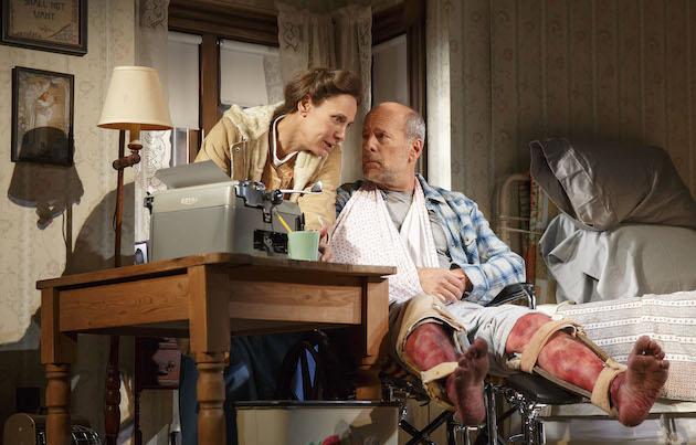 Misery Broadhurst Theatre Laurie Metcalf Bruce Willis