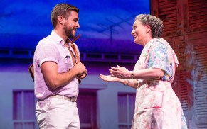 11-0274_Josh Segarra as Emilio and Alma Cuervo as Consuelo in ON YOUR FEET! (c) Matthew Murphy