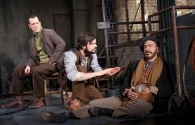 Darren Pettie, Jonny Orsini and Evan Zes in Incident at Vichy