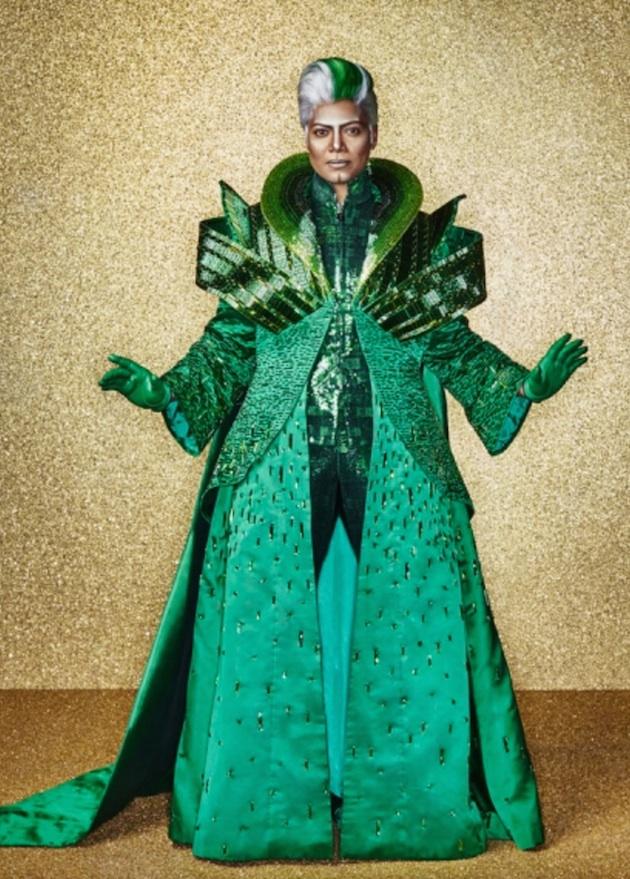 Queen Latifah as The Wiz