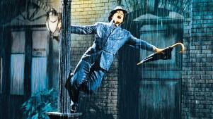 singin-in-rain with Gene Kelly