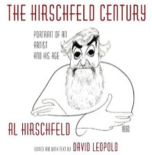 coffee table book about theater illustrator Al Hirschfeld