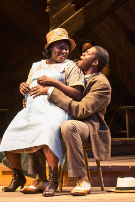 Color Purple 14 Danielle Brooks, Kyle Scatliffe