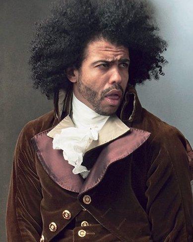 Daveed Diggs as Thomas Jefferson in Hamilton