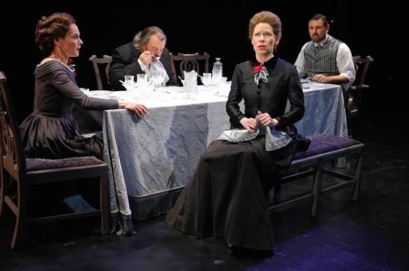 Thornton Wilder's A Long Christmas Dinner: Giselle Wolf, Brad Fryman, Barbra Wengerd, John Pasha