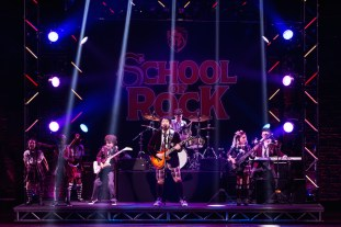School of Rock 6 Alex Brightman and School of Rock kids