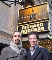 Lin-Manuel Miranda and Thomas Kail