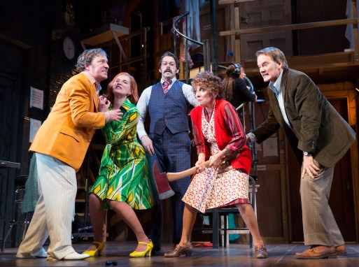 Noises Off: Jeremy Shamos, Kate Jennings-Grant, David Furr, Andrea Martin, Campbell- Scott