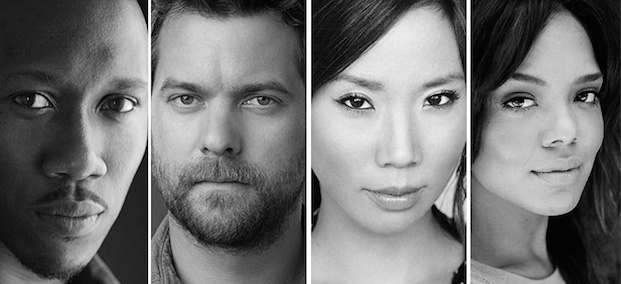 The cast of Smart People: Mahershala Ali, Joshua Jackson, Ann Son, Tessa Thompson