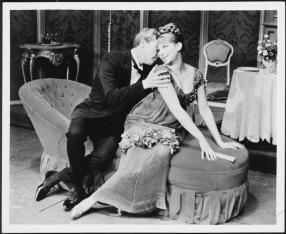 Barbra Streisand as Fanny Brice and Sydney Chaplin as Nick Arnstein in Funny Girl 1964