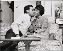 Louis Gossett as Willie Nurse and Cicely Tyson as Myrna Jessup in Carry Me Back to Morningside Heights 1968