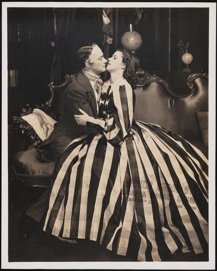 Robert Keith as Charles Dickens and Diana Barrymore as Caroline Bronson in Romantic Mr. Dickens, 1940