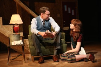 Brian Hutchison and Taylor Richardson as father and daughter