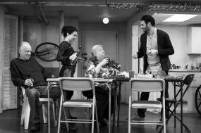The Humans 3 Reed_Birney__Sarah_Steele__Jayne_Houdyshell__Arian_Moayed._Photo_by_Brigitte_Lacombe