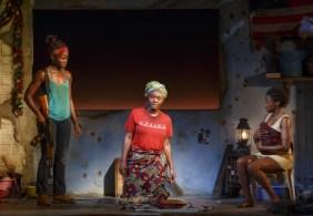Lupita Nyong'o, Saycon Sengbloh, and Pascale Armand