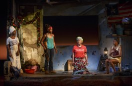 Akosua Busia, Lupita Nyong'o, Saycon Sengbloh, and Pascale Armand