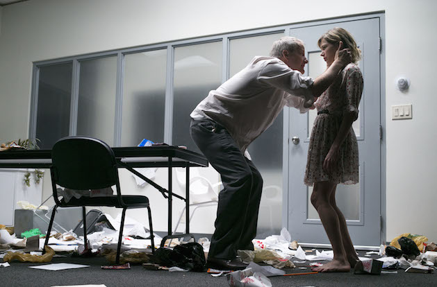 Jeff Daniels and Michelle Williams