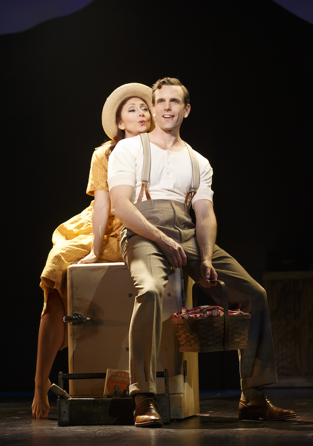 Carmen Cusack and Paul Alexander Nolan (production shot from Kennedy Center)