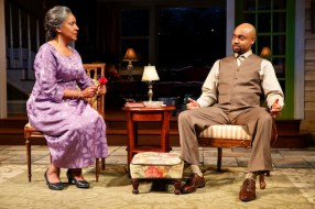 Phylicia Rashad as Shelah with Francois Battiste as her son Aubrey