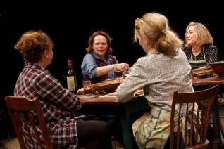 Hungry: amy-warren, maryann-plunkett, lynn hawley and meg gibson discuss politics