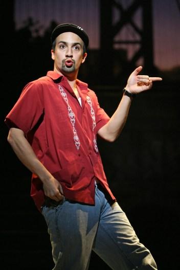 Lin-Manuel Miranda as Usnavi