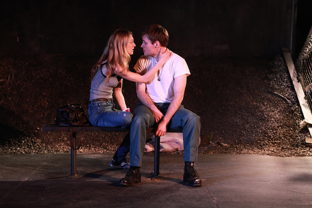 Marin Ireland and Josiah Bania in Ironbound by Martyna Majok