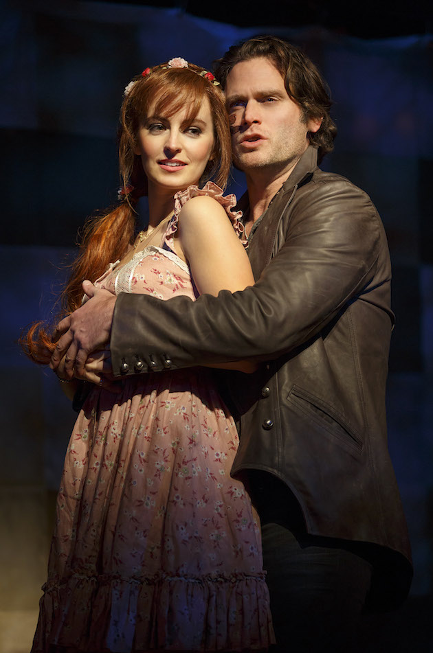 Ahna O'Reilly and Steven Pasquale