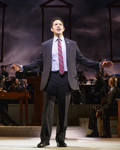 Santino Fontana (John Adams) 1776 City Center